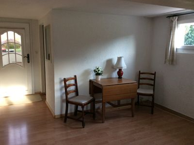 Photo for Comfortable lower ground floor flat in picturesque village above Nyon