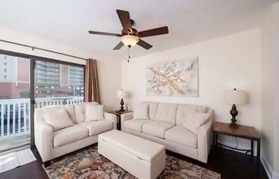 Photo for NEWLY RENOVATED AND VERY COZY 1 BEDROOM CONDO