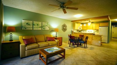 Photo for LOWERED rates through end of OCT. Quiet and very clean condo close to the beach