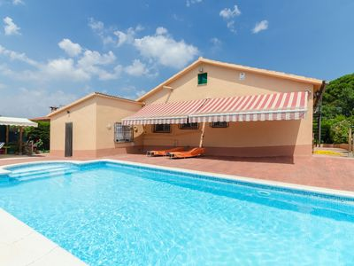 Photo for Club Villamar - Cozy villa with private swimming pool fenced pool situated in a quiet area