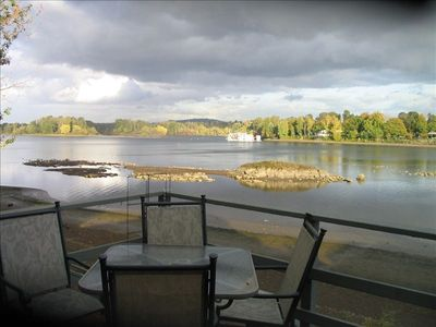 Photo for On the River! Large in-City 1+ Bedroom Rental...