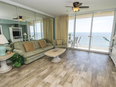 Photo for Beachfront Condo~Spectacular Views of the Gulf of Mexico~ Near Great Attractions!