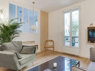 Photo for Sumptuous Apartment for 2 - Canal Saint-Martin