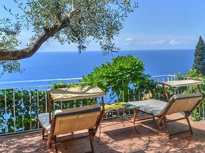 Photo for Villa Ermelinda: A splendid and luminous three-story villa situated in a quiet location, a few minutes from the town center, with Free WI-FI.