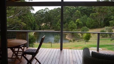 Beautiful holiday home with stunning natural views of the lake and forest