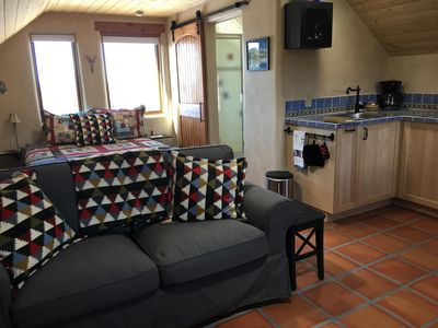 Photo for Perfect cozy retreat, midway between Taos and ski valley (new!)
