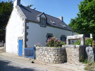 Photo for Pretty renovated farmhouse in Kerdalé, close to beach - Wi fi, small garden