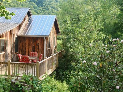 Photo for Rustic Updated Cabin in the Heart of the Appalachian High Country