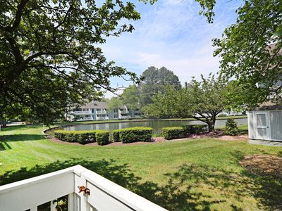 Photo for 3008E: Lakefront 2BR Sea Colony West Condo | Private, beach, pools, tennis ...