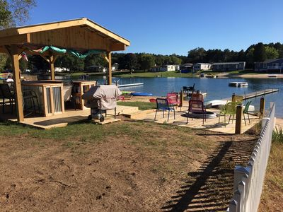 Photo for Cozy Bear Cottage is located on Lakefront  In Silver Lake Mears, Mi