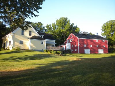 Photo for Renovated 19th C. Farm Retreat | Private Lakefront | 80 acres | Camden Area
