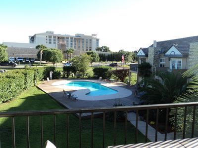 Photo for Spacious Condo With Pool, Across From Resort, Walking Distance To Lake