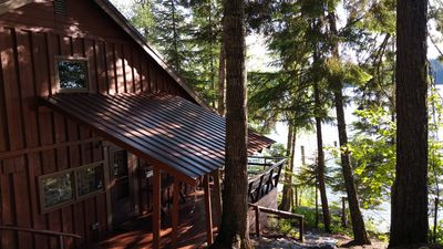 Photo for Lakefront Cabin in Cavanaugh Bay of Beautiful Priest Lake