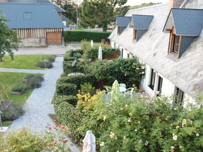 Photo for 2BR Cottage Vacation Rental in Le Hanouard, Normandie