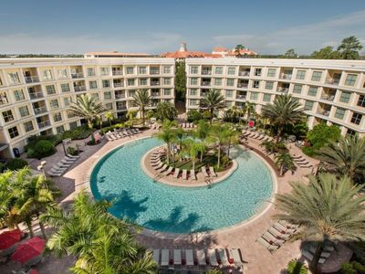 Photo for DISNEY ESCAPE, MODERN 1BR SUITE, CLOSE TO THE PARKS, POOL, HOT TUB
