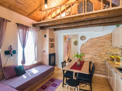 Photo for Spiti Lagis - rustic cottage house with 1BR loft