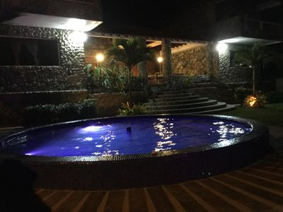 SALT Water Heated Pool And Jacuzzi. Total Body Circulation. Good Healthy Life.
