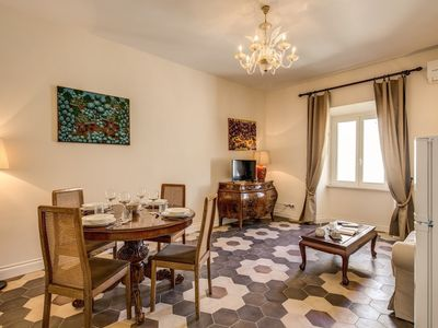 Photo for Apartment 996 m from the center of Rome with Internet, Air conditioning, Lift, Washing machine (740242)