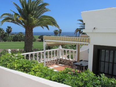 Photo for Pebble Beach, Amarilla Golf apartment, 2 bed, 2 bath, with stunning sea views