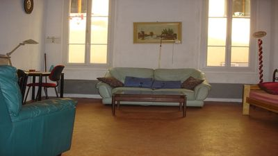 Photo for Large studio with separate kitchen in the old Nice at 100 meters from the sea