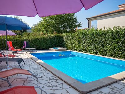 Photo for Holiday apartment with use of pool