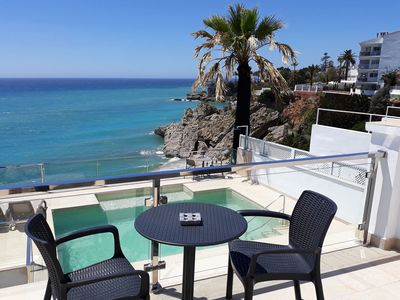 Photo for Luxury villa in Carabeo street, Nerja