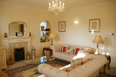 The Living Room at the Muntham Townhouse in Torquay.