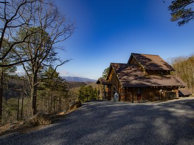 Photo for New Listing! 2 Bedroom Cabin Just Remodeled with an Amazing View of the Smokies!