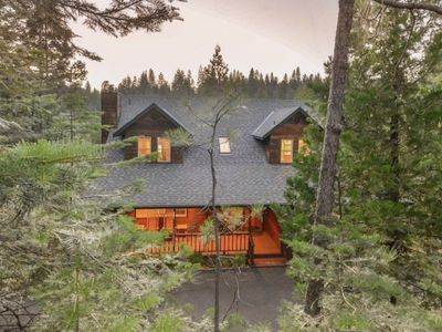 Photo for NEW LISTING! Stunning Sugar Pine Cabin