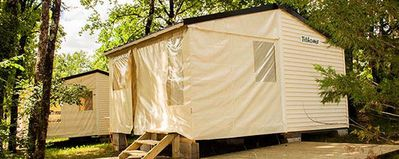 Photo for Camping des Bastides **** - Tithome 3 rooms 5 persons Without Bathroom