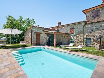 Photo for Princely Holiday Home in Chitignano with Swimming Pool