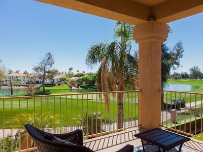 Photo for 3BR Gated Ocotillo Home, Pool Heater, Lake Views