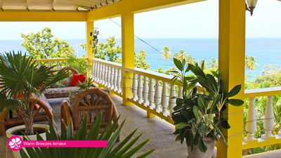Photo for Warm Breezes – 3 Bedroom 'Villa experience' apartment, sleeps 6-8, great seaview