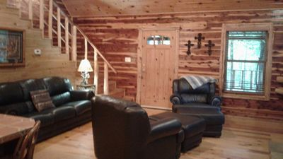 Photo for BRIAR PATCH: North  Broken Bow lake, 2 bedroom 1 bath, fishing pond, allow pets
