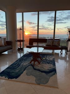 Sunrise from the living room