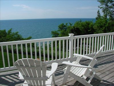 Photo for Summerset Cottage Has Beautiful Lake Views and Private Beach