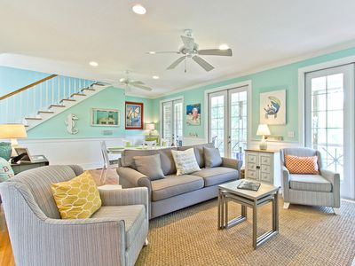 Nicely Furnished North Tybee Private Home with Marshland View