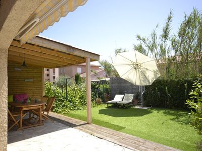 Photo for PRETTY CLIMATEED HOUSE ON ONE LEVEL WITH TERRACE, ideal for 1 couple and 3 children