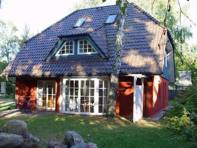 Photo for Holiday Darssblick, directly on the Darsswald, 800m to the beach, free WiFi