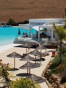 Photo for APARTMENT ON EXCEPTIONAL SITE WITH BEACH, PRIVATE LAGOON UNIQUE IN EUROPE