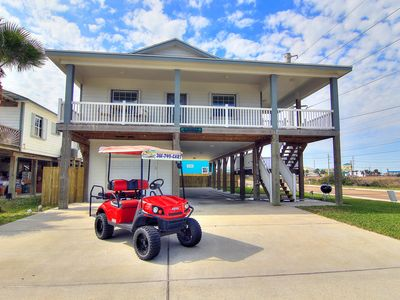 Photo for Shamrock by the Sea: Boardwalk to Beach, PRIVATE POOL, Free Golf Cart