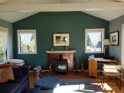 We recently raised the living room ceiling to create a spacious feel.We love it!