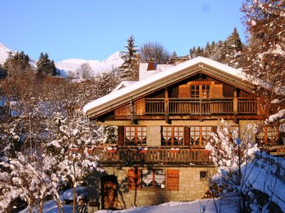 Photo for Very nice chalet near the center of Megève
