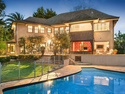 Photo for LUXICO - Heyington Place, luxury home with pool in Toorak