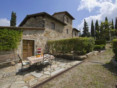 Photo for Graceful Farmhouse in Radda In Chianti with Garden