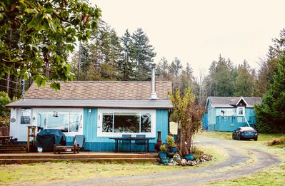 Photo for Aqua Cottage at The Last Resort on Berry Point Road, Gabriola Island, B.C.