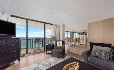Photo for New Listing! Gorgeous ocean views @ this luxury condo! Golf Course, 11 pools!