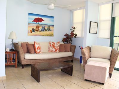 Photo for Spacious and Luminous Garden Level Apt, Sleeps 8