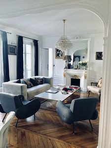 Photo for Parisian apartment near Champs Elysees