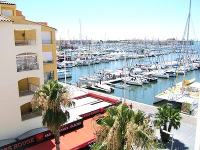 Photo for Studio with balcony and pool, superb view of the Marina - Maeva Individuals - Studio 4 people Confort
